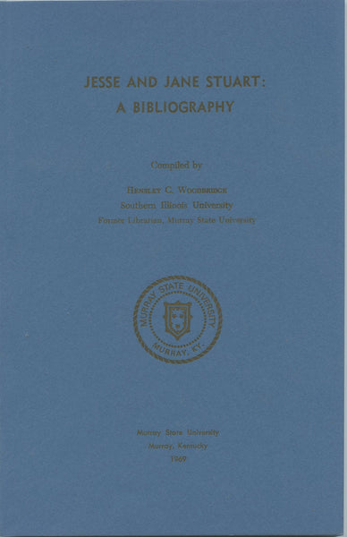 Jesse and Jane Stuart A Bibliography