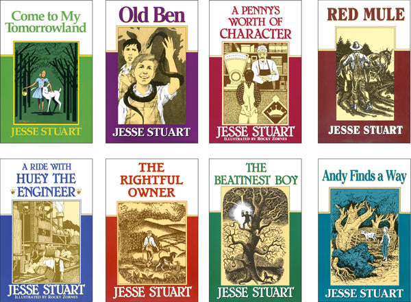 Jesse Stuart Jr. Books Set of 9