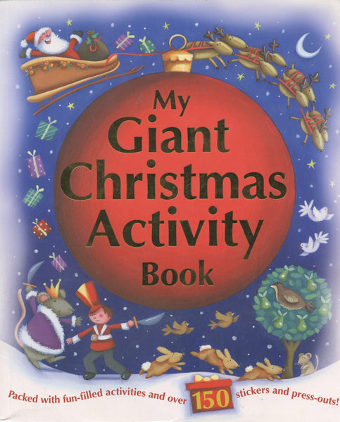 My Giant Christmas Activity Book
