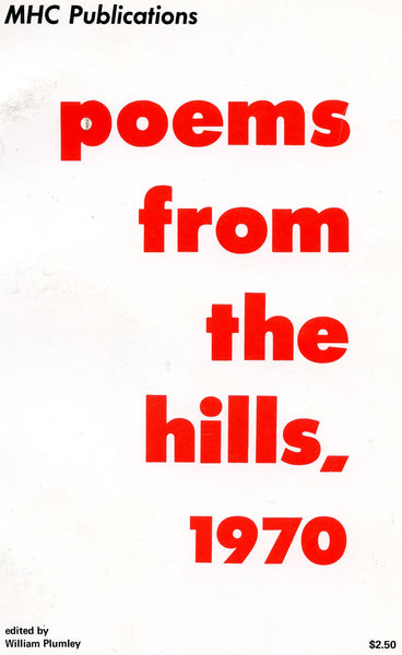 Poems from the Hills. 1970