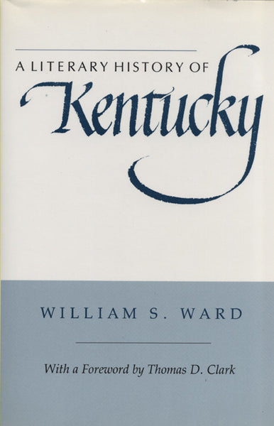 Literary History of Kentucky, A
