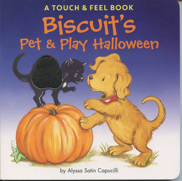 Biscuit's Pet & Play Halloween (touch & feel board book)