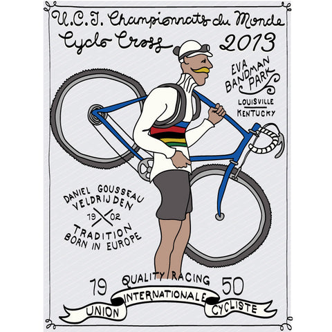 2013 Cyclocross World Championships Poster - Endurance Conspiracy