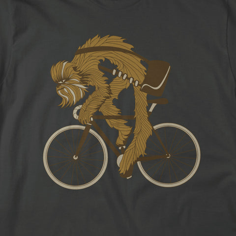 Chewie Rides - Charcoal