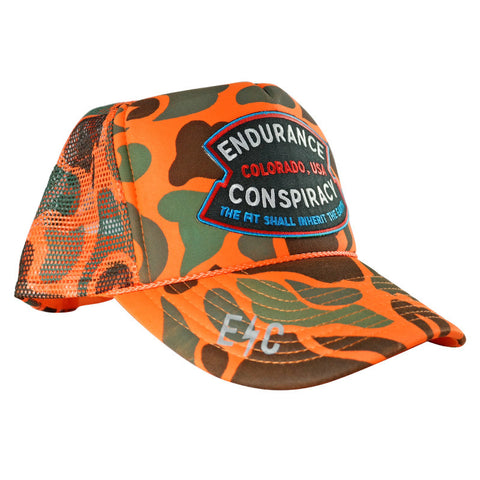 EC Colorado Hunter Trucker Hat - Endurance Conspiracy