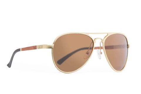 Proof - Eagle Aluminum Gold Brown Polarized