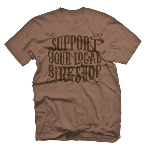 Support Your Local Bike Shop Tee
