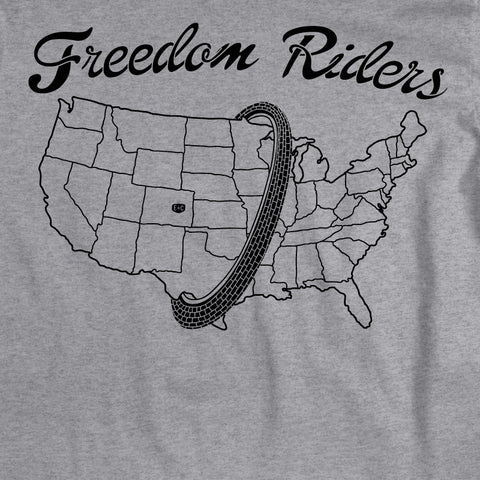 EC Freedom Riders USA Heather Grey