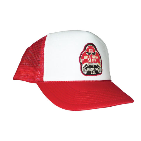 Mile High Club Red Trucker