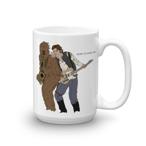 Born to Kessel Run Mug