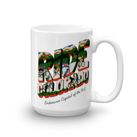 Ride Colorado Mug