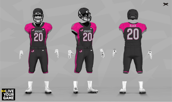 Apaches Xenith Uniform Design
