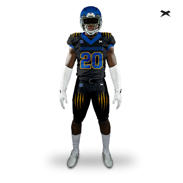 Roughriders Xenith Uniform Design Submission