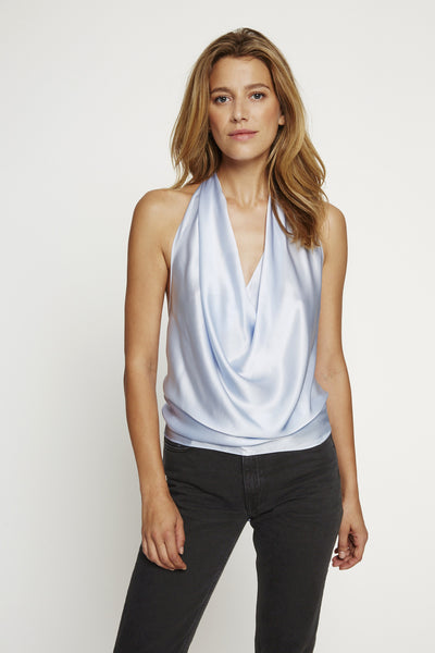 Draped Neck Halter