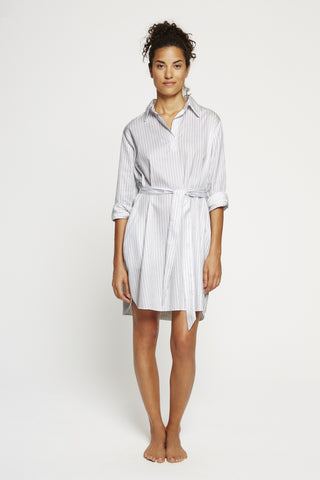Shirt Dress-Italian Cotton