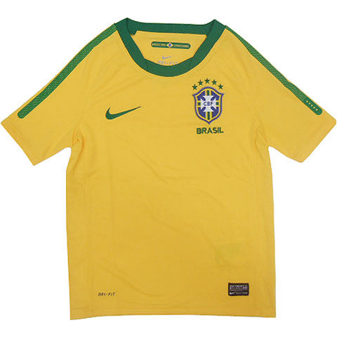 Brazil Jersey 2010 Youth and Boys Sizes S, Brazil Soccer Jersey - Nike, G2G Sport Chicago