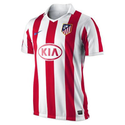 Atletico Madrid Jersey 2010-2011 , Atletico Madrid Soccer Jersey - Nike, G2G Sport Chicago
