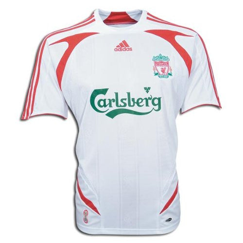 Liverpool Away Jersey 2007-2008 M, Liverpool Soccer Jersey - Adidas, G2G Sport Chicago