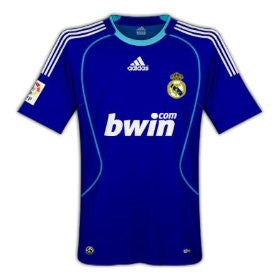 Real Madrid Jersey 2008-2009 S, Real Madrid soccer jersey - Adidas, G2G Sport Chicago