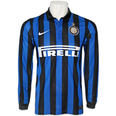 Inter Milan Jersey Long Sleeve 2011 2012 S, Inter Milan Jersey - Nike, G2G Sport Chicago