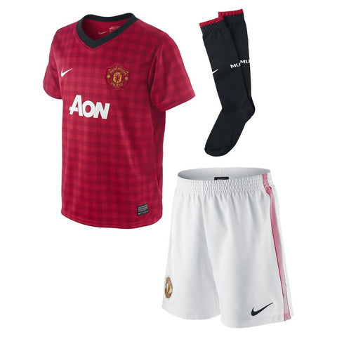 Manchester United Kids Uniform XS(3-4 yrs), Manchester United Soccer jersey - Nike, G2G Sport Chicago