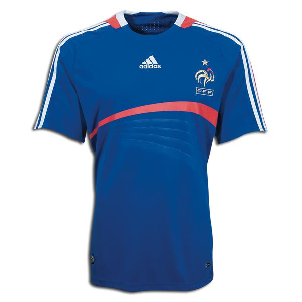 France Jersey 2008 S, France Soccer Jersey - Adidas, G2G Sport Chicago