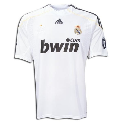 Real Madrid Jersey 2009-2010 XL, Real Madrid soccer jersey - Adidas, G2G Sport Chicago