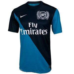 Arsenal Jersey Away 2011-2012 S, Arsenal Soccer jersey - Nike, G2G Sport Chicago