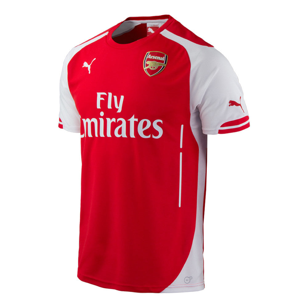 Arsenal Jersey Youth and Boys Sizes 2014 2015 , Arsenal Soccer jersey - Puma, G2G Sport Chicago