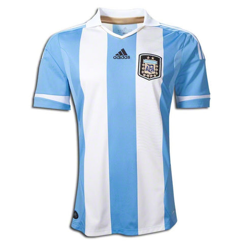 Argentina Jersey Youth and Adult Sizes 2012-2013 Youth L, Argentina Soccer Jersey - Adidas, G2G Sport Chicago