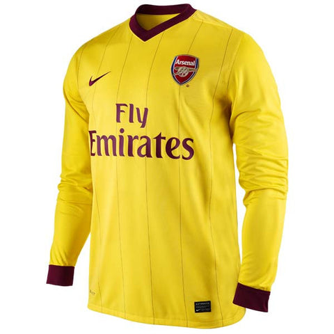 Arsenal Jersey Long Sleeve Jersey 2010-2011 L, Arsenal Soccer jersey - Nike, G2G Sport Chicago
