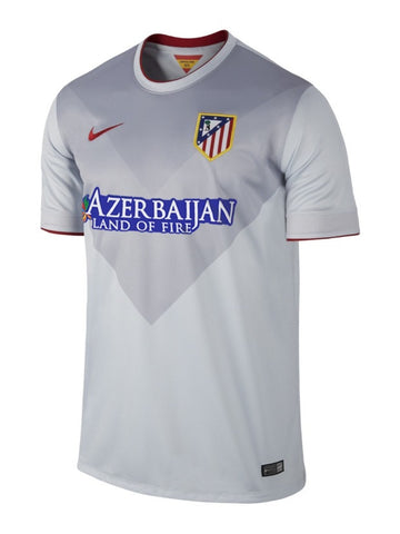 Atletico Madrid Jersey  Away Jersey 2014 2015 with Sponsor , Atletico Madrid Jersey 2014 2015 - Nike, G2G Sport Chicago