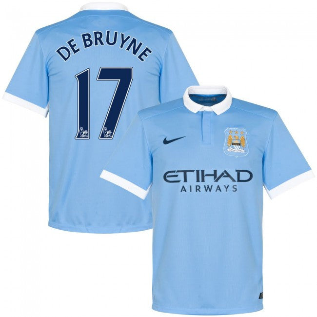Copy of De Bruyne Jersey Manchester City 15-16  for kids, boys and youth , manchester city jersey - Nike, G2G Sport Chicago