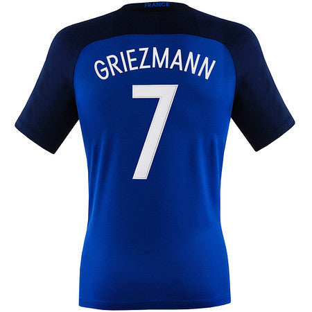 Griezmann Jersey France Home Euro 2016 , griezmann jersey france - Nike, G2G Sport Chicago - 1