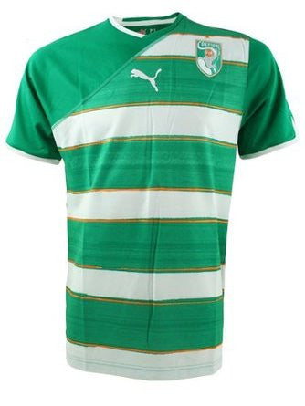 Ivory Coast 2010 Jersey - Official Drogba name offered , drogba jersey ivory coast - Puma, G2G Sport Chicago