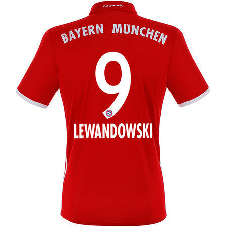 Lewandowski Bayern Munich boys, youth and kids jerseys , lewandowski bayern munich youth jersey - Adidas, G2G Sport Chicago - 1
