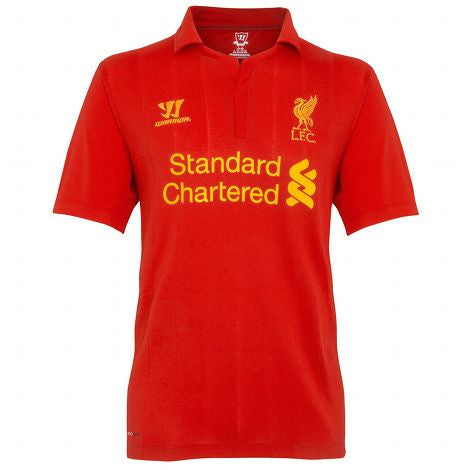 Liverpool Jersey 2012-2013 S, Liverpool Soccer Jersey - Warrior, G2G Sport Chicago