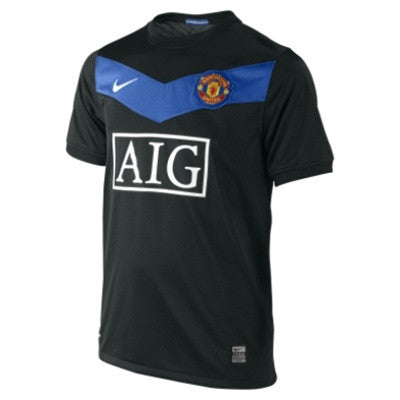 Manchester United Jersey Away 2009-2010 Youth and Boys Sizes S, Manchester United Soccer jersey - Nike, G2G Sport Chicago
