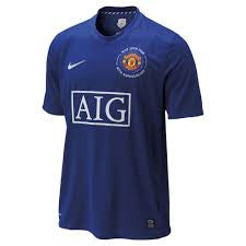 Manchester United Jersey Third 2008-2009 M, Manchester United Soccer jersey - Nike, G2G Sport Chicago