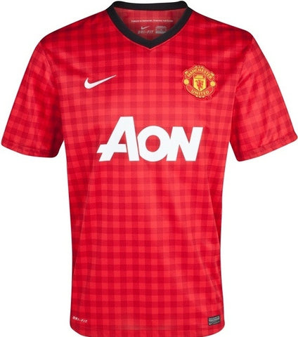 Manchester United Jersey Youth and Boys Sizes 2012-2013 L, Manchester United Soccer jersey - Nike, G2G Sport Chicago