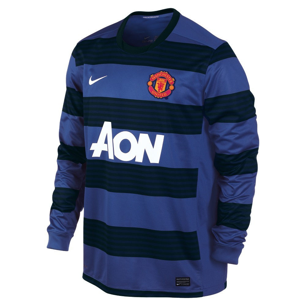 Manchester United Jersey Away Long Sleeve 2011-2012 M, Manchester United Soccer jersey - Nike, G2G Sport Chicago