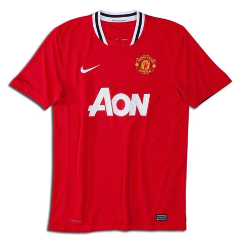 b9ca3549f Manchester United Jersey Youth and Boys Sizes 2011-2012 - G2G Sport Chicago