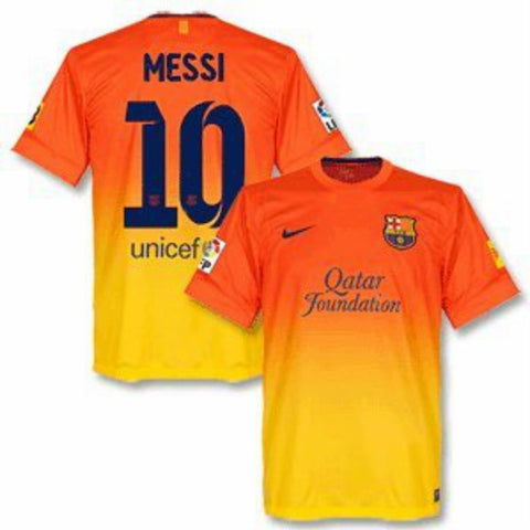 Messi Jersey Barcelona Away 2012-13 XL, Barcelona home soccer jersey - Nike, G2G Sport Chicago