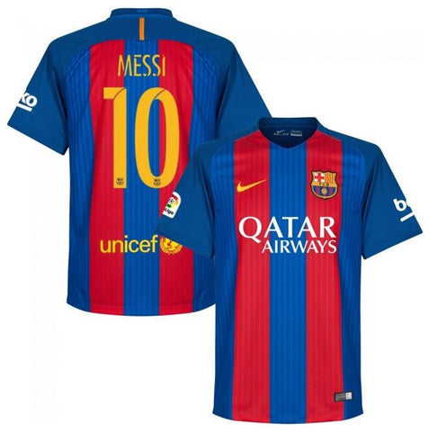 Messi Jersey Barcelona 2016 2017 , Messi Barcelona Jersey - Nike, G2G Sport Chicago