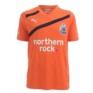 Newcastle Jersey Away  2011-2012 S, Newcastle Soccer Jersey - Puma, G2G Sport Chicago