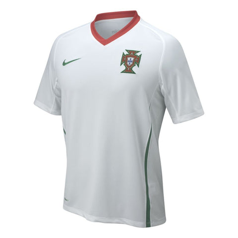 Portugal Jersey Away 2008-2009 L, Portugal Soccer Jersey - Nike, G2G Sport Chicago