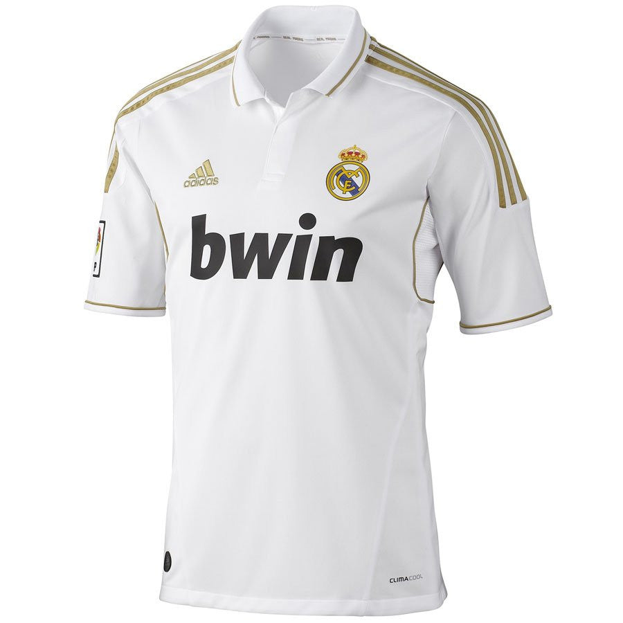 Real Madrid Jersey 2011-2012 Youth L, Real Madrid soccer jersey - Adidas, G2G Sport Chicago