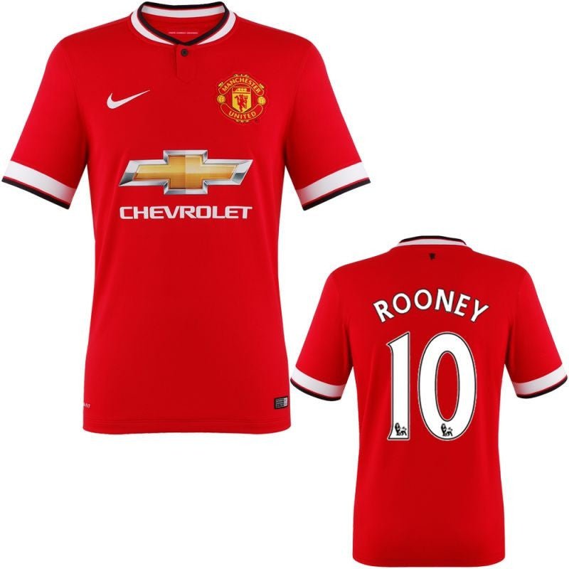 Rooney Jersey Youth/Boys Manchester United Kids Jersey 2014 2015 Select Size / No, Manchester United Soccer jersey - Nike, G2G Sport Chicago