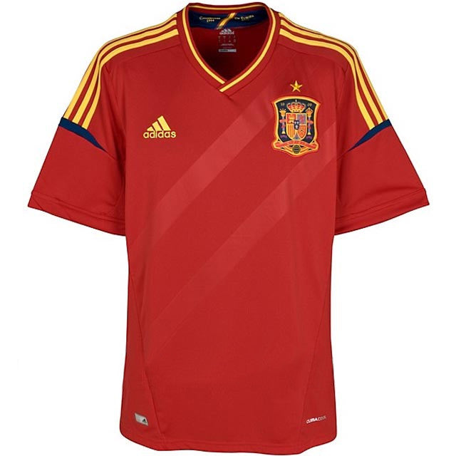Spain Jersey 2012 Youth M, Spain Soccer Jersey - Adidas, G2G Sport Chicago
