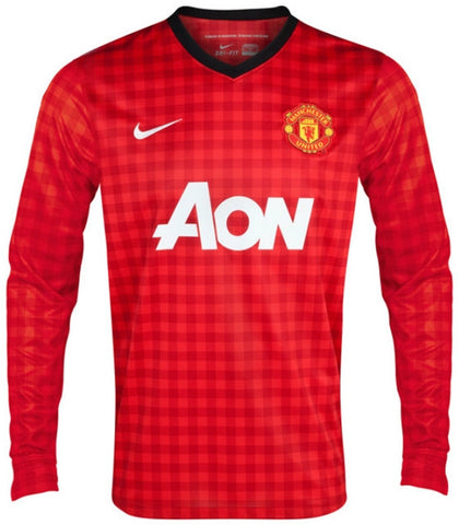 Manchester United Jersey 2012-2013 S, Manchester United Soccer jersey - Nike, G2G Sport Chicago